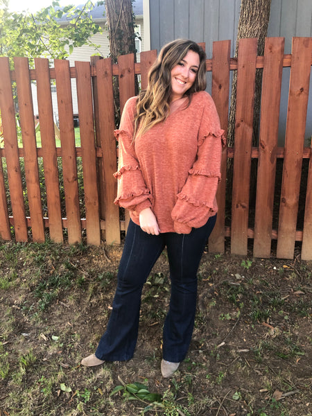 Soft Rust Sweater