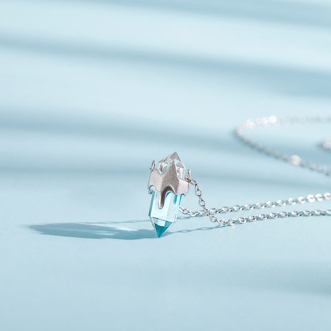 Icicle Crystal Necklace