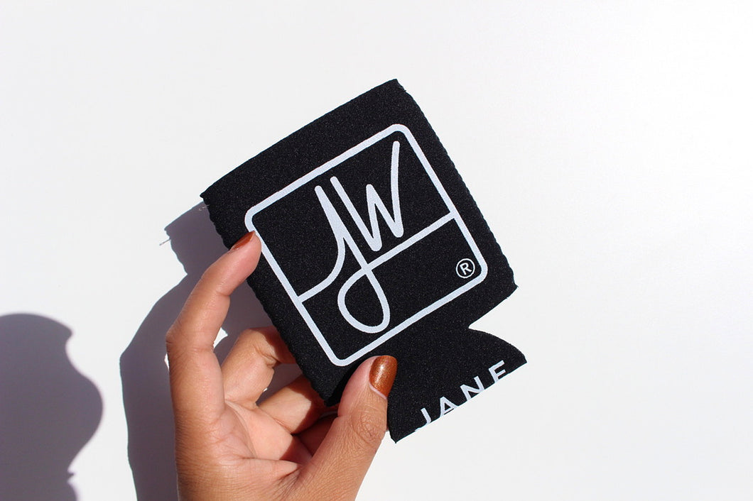 Jane West Koozie with Custom Pocket