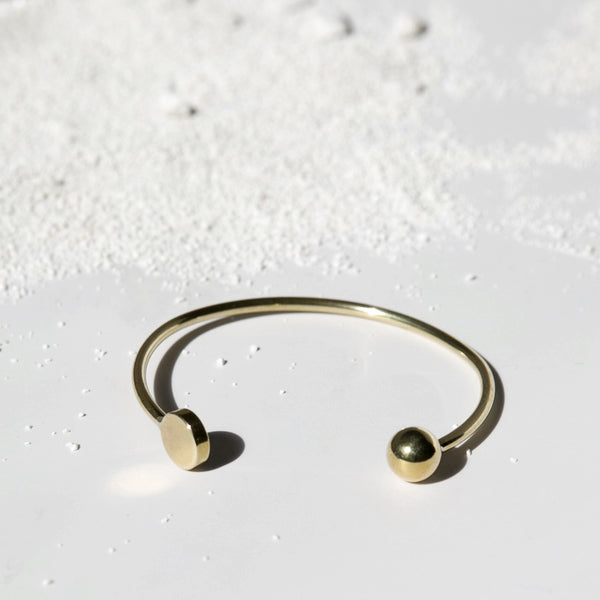 Disc + Sphere Cuff J16
