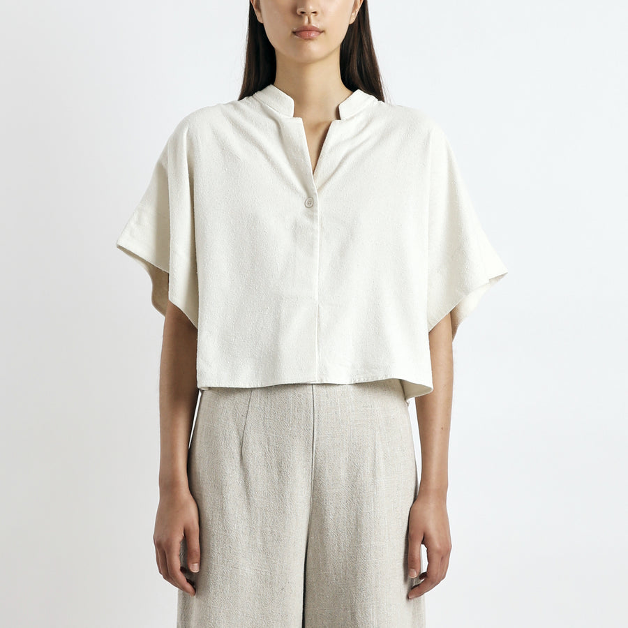 Mandarin Top - SS21 - Off-White