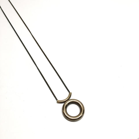 Donut Arc Necklace - Medium - BSC