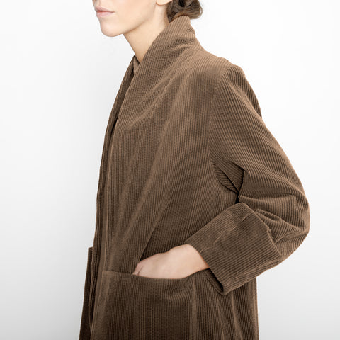 Open Fall Coat - Corduroy - FW19