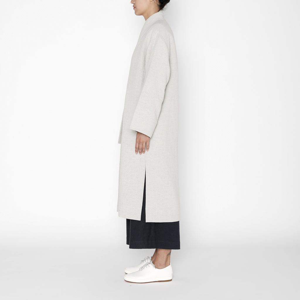 Karate Long Coat - FW19 - Dove