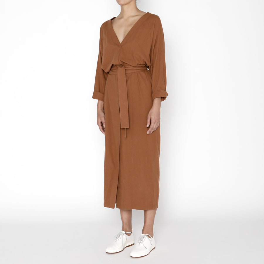 Rope Dress - FW19 - Rust