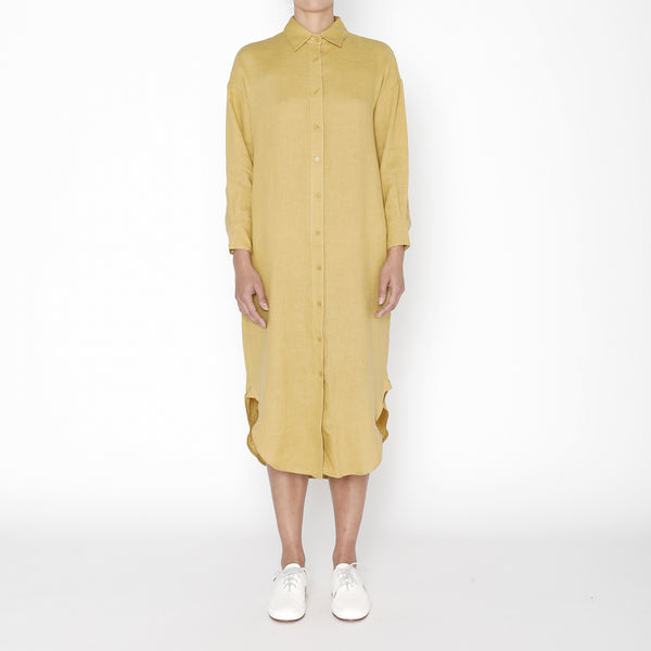 Dolman Shirtdress - FW19 - Chartreuse