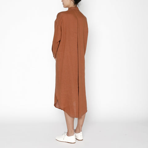 Dolman Shirtdress - FW19 - Rust