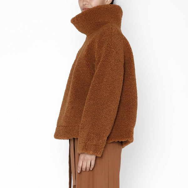 Curly Turtleneck - FW19 - Rust