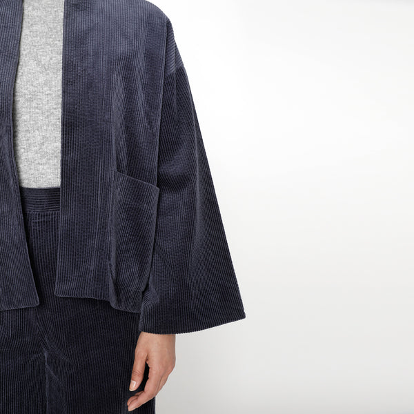 Pockets Open Blazer - FW19 - Midnight Blue