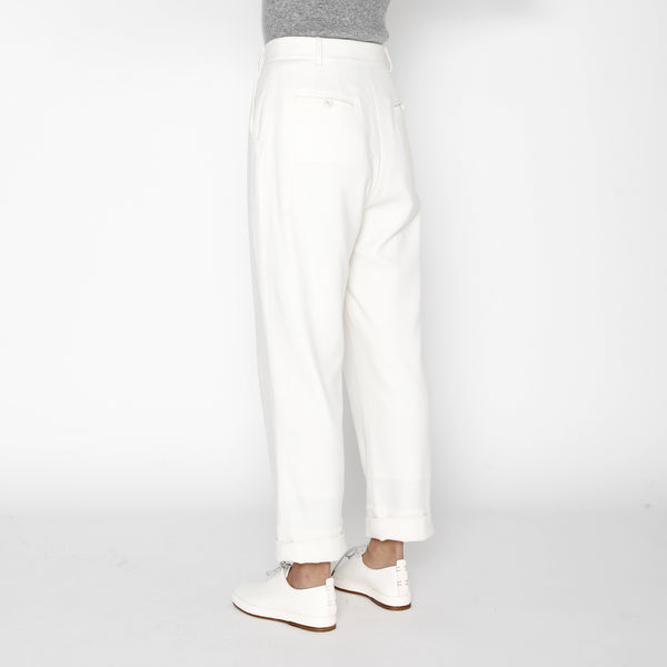 Painter Wool Trouser - FW19 - Off-White