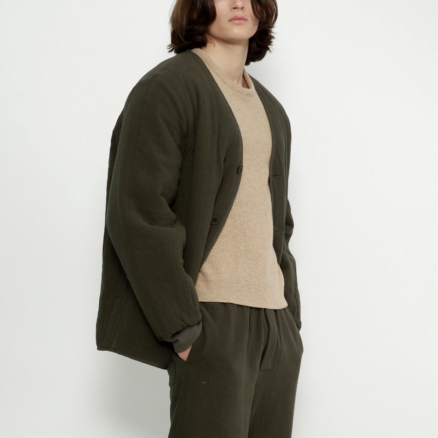 Unisex Quilted Cotton Jacket - Color Options