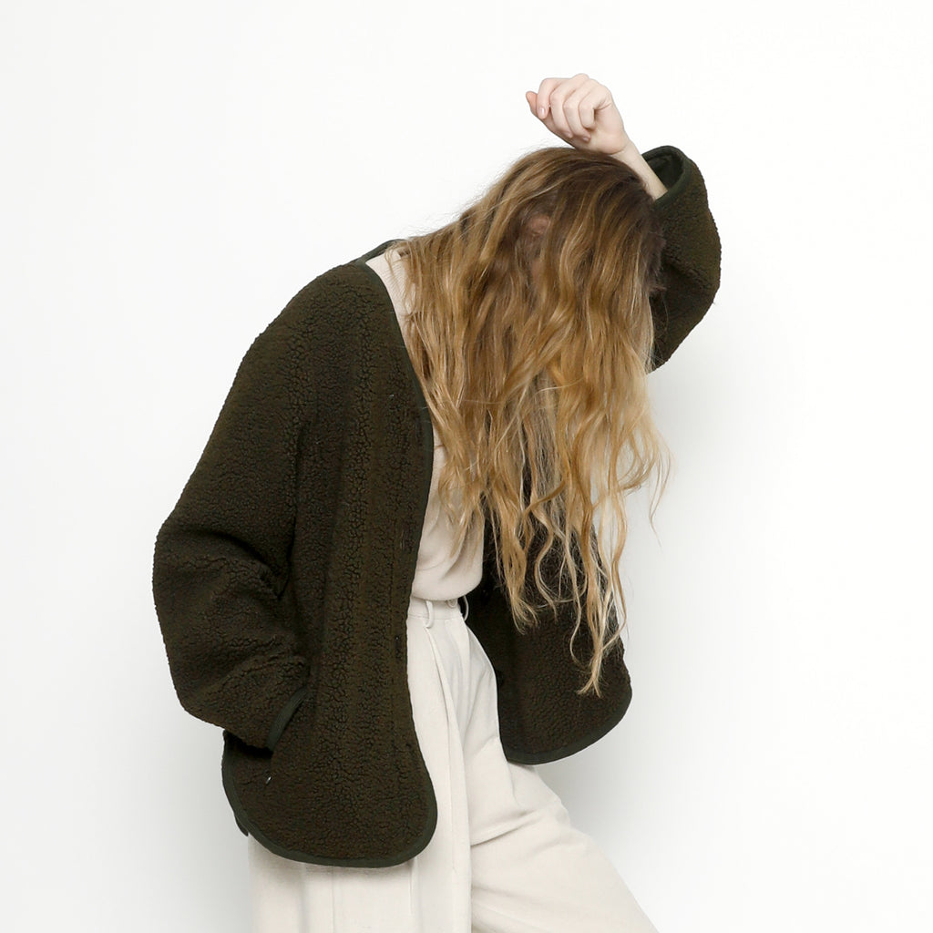 Curly Jacket - FW20 - Olive
