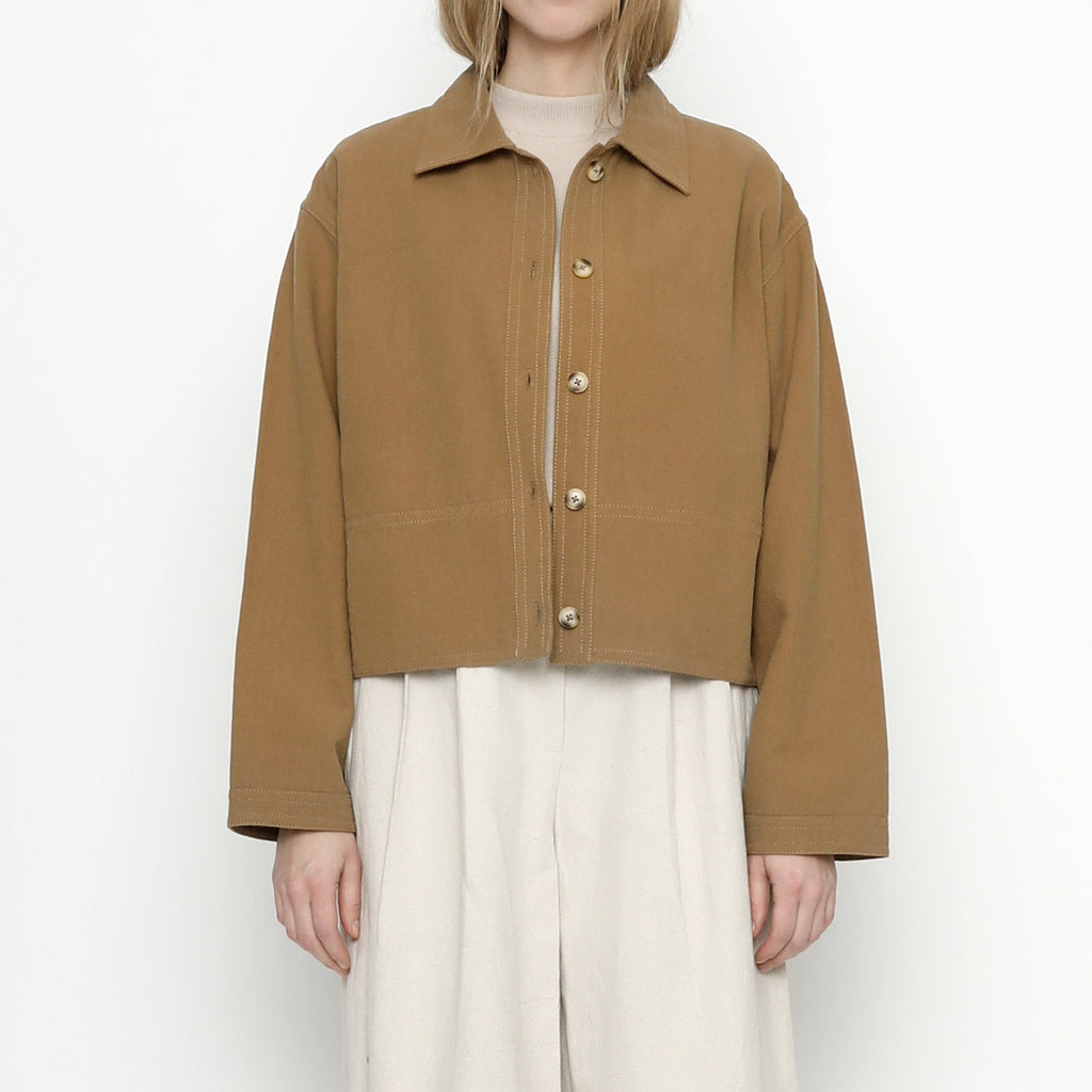 Canvas Shirt Jacket - FW20 - Tan