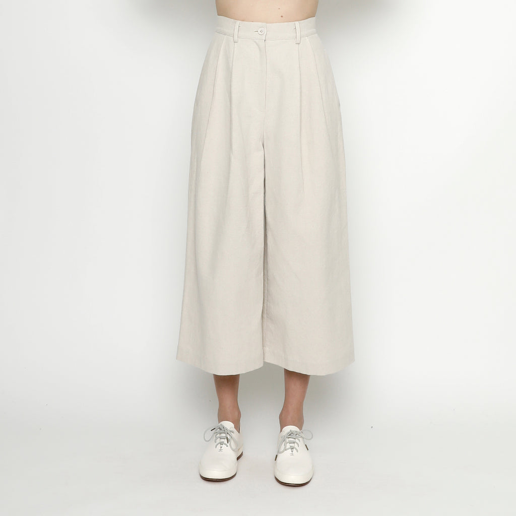 Canvas Skate Trouser - FW20 - Stone White