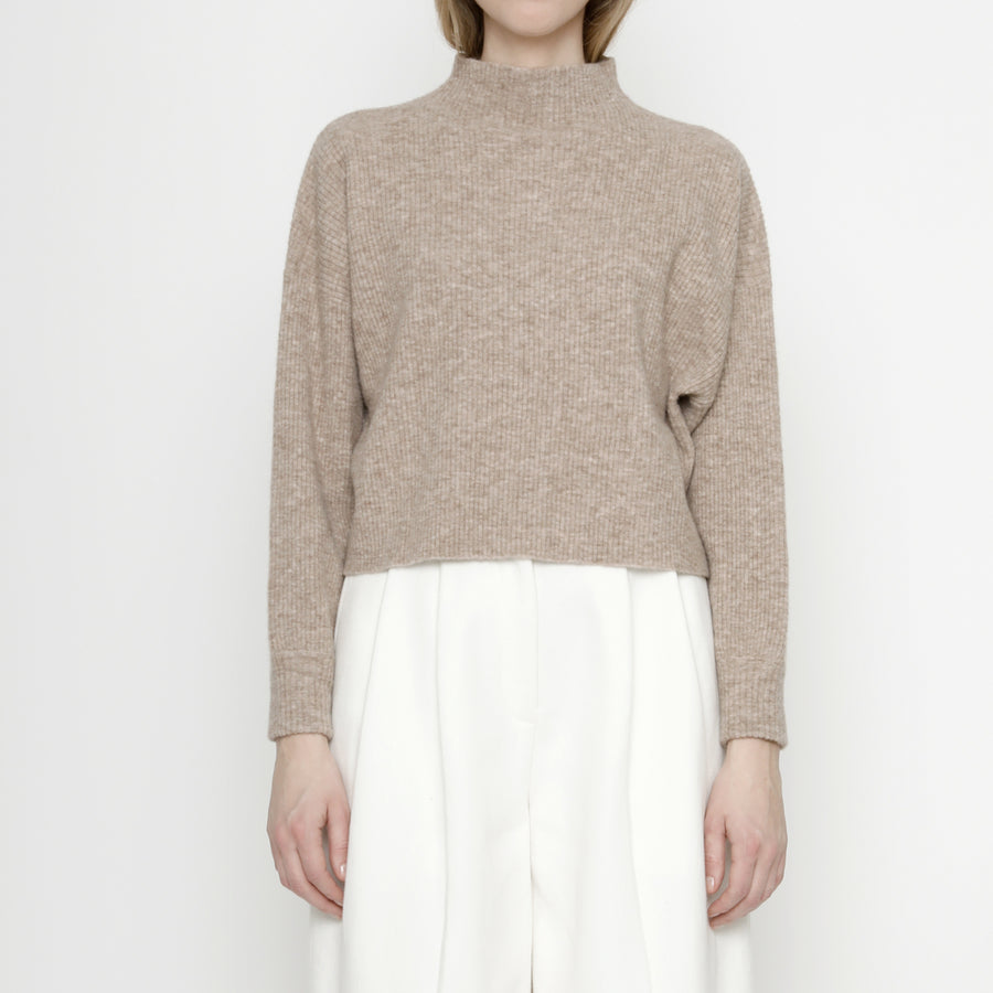 Ribbed Mock-Neck Sweater - FW20 - Faune