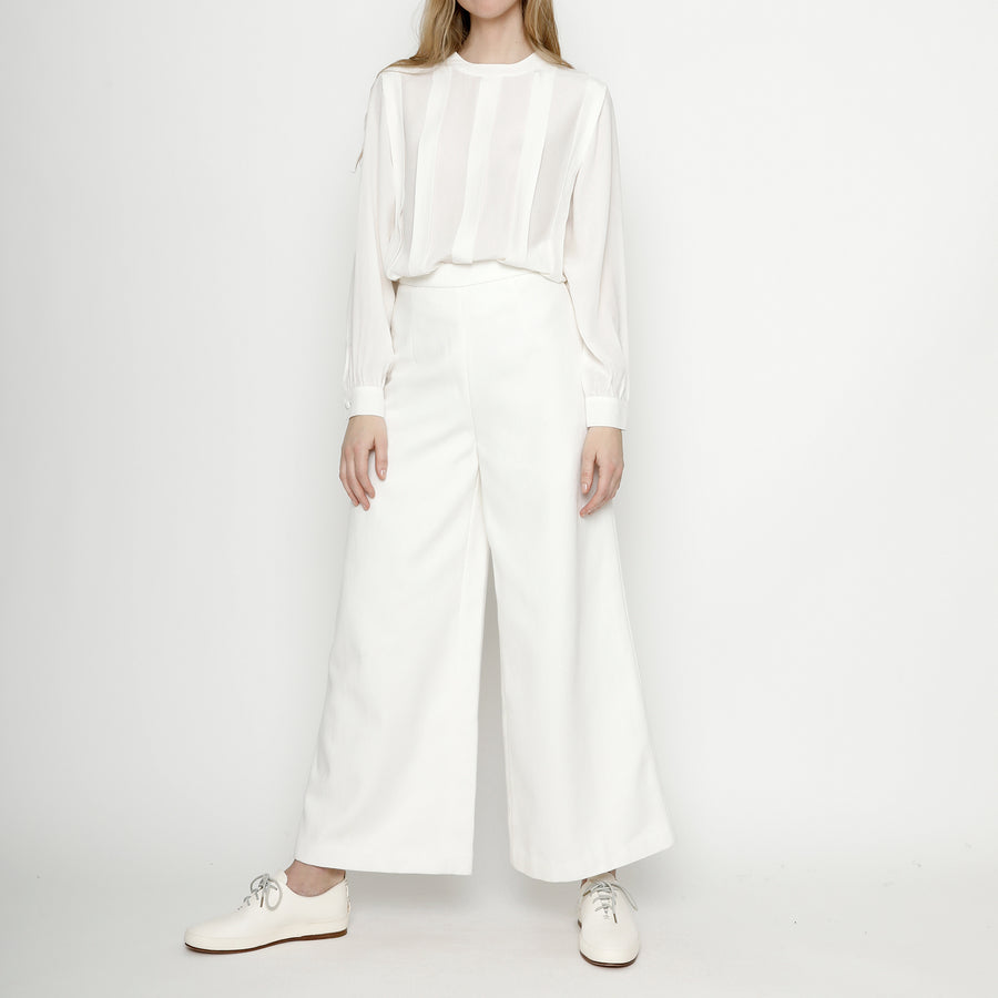 Winter Wide-Legged Trouser - FW20 - Off-White