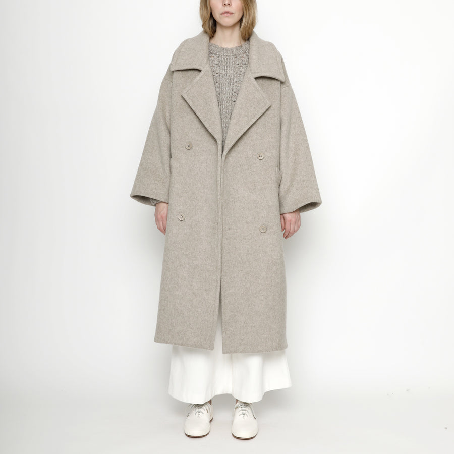 Oversized Long Wool Coat - Winter Edition - FW20 - Oatmeal