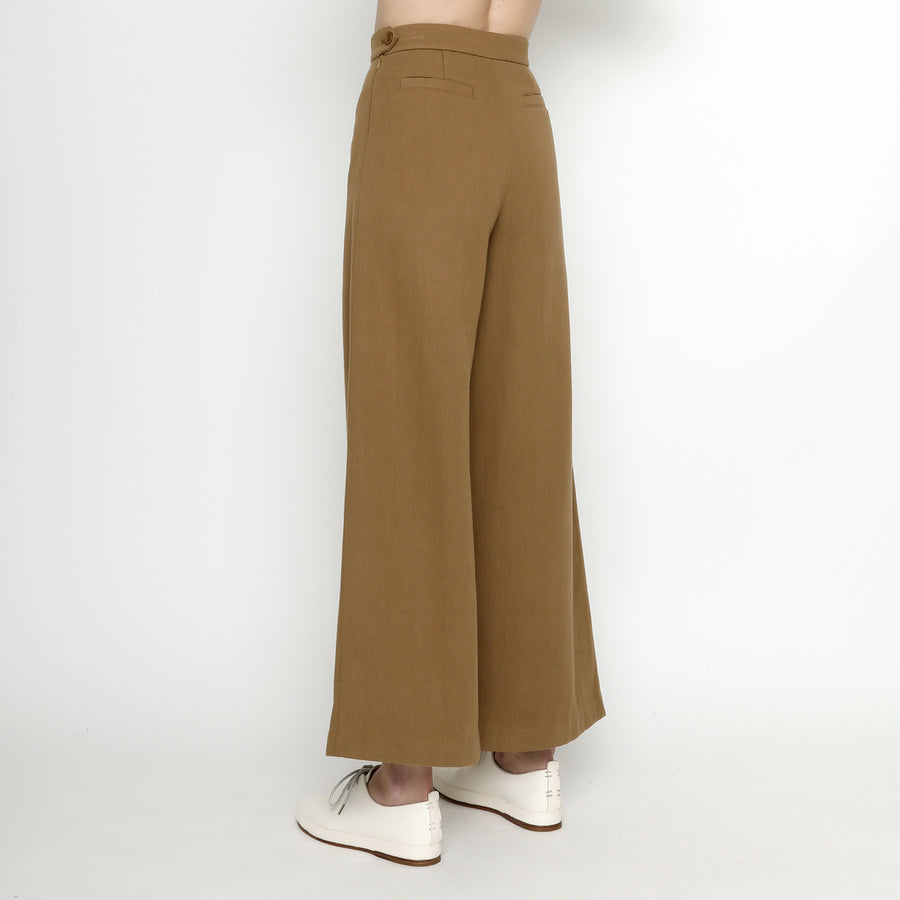 Winter Wide-Legged Trouser - FW20 - Copper