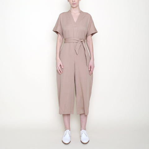 Hanbok Jumpsuit - Clay - SS18