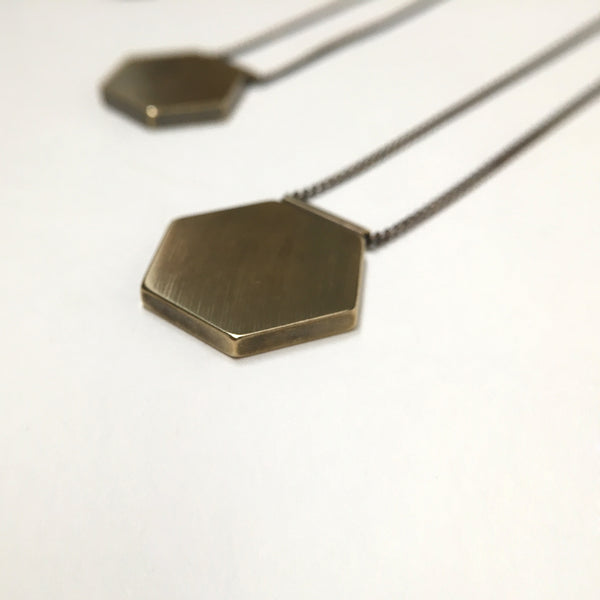 Hexagon Necklace - Large - BSC