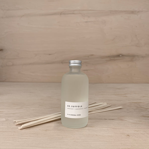 7115 Diffusers - Frosted Bottle - Suffolk