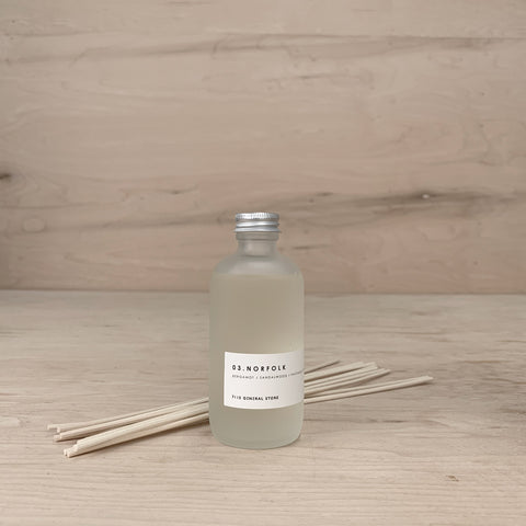 7115 Diffusers - Frosted Bottle - Norfolk