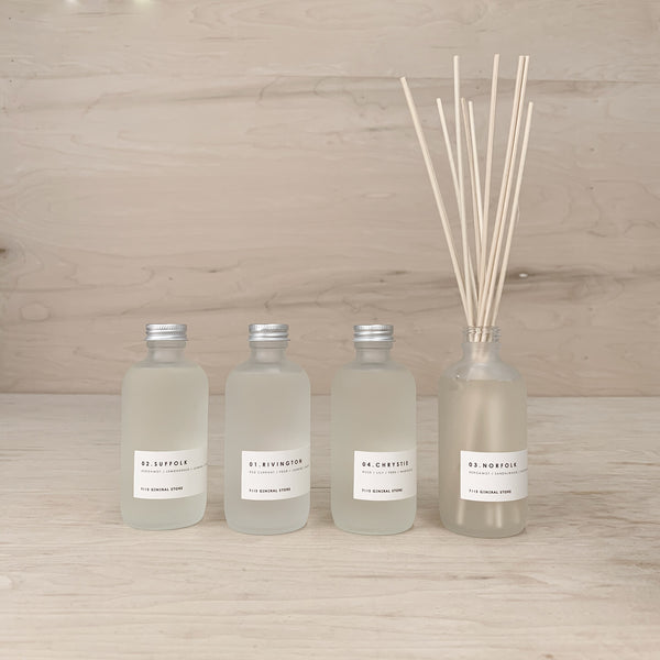 7115 Diffusers - Frosted Bottle - Rivington