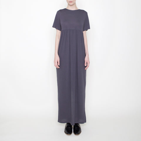 Short-Sleeves Maxi - Gray - FW17