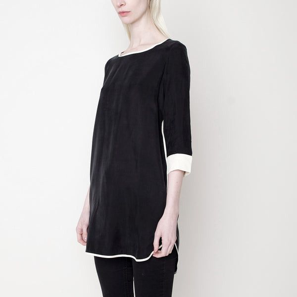 Trim Blouse Dress PS15