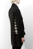 Checkered Wool Jacket FW14 - charcoal