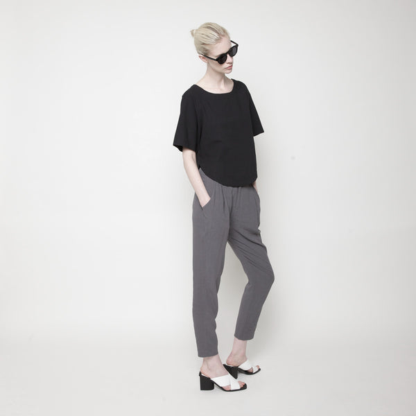 Relaxed Top PF15 - Black