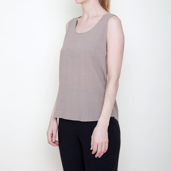 Signature Tank Top - Tan