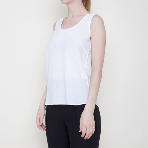 Signature Tank Top - Off-White