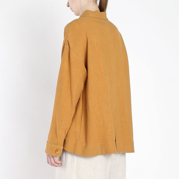 Single Button Jacket - SS19 - Turmeric