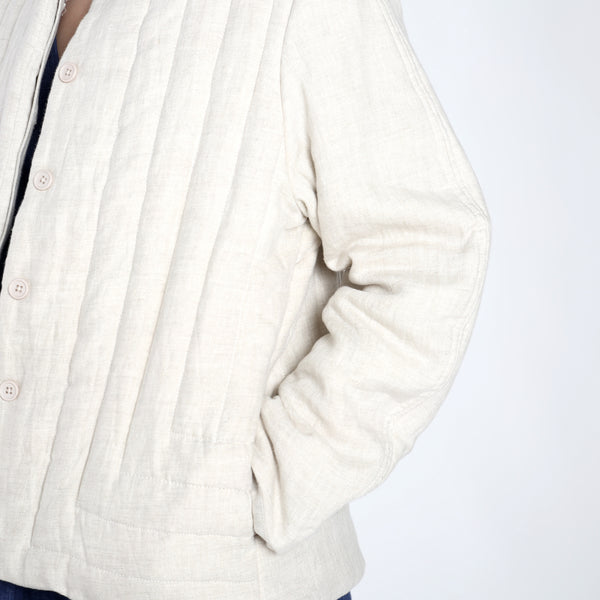 Spring Quilted Jacket - SS19 - Beige