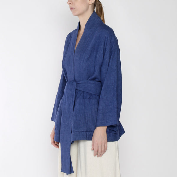 Linen Spring Two Way - SS19 - Indigo