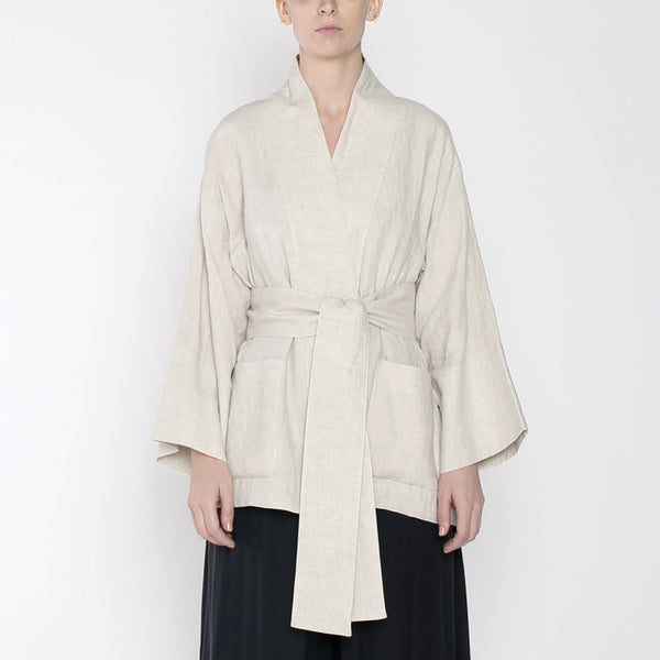 Linen Spring Two Way - SS19 - Beige