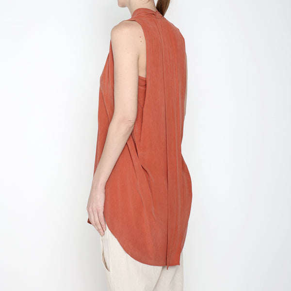 Origami Top - SS19 - Coral