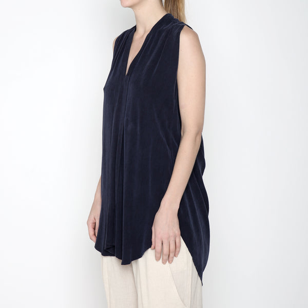 Origami Top - SS19 - Navy