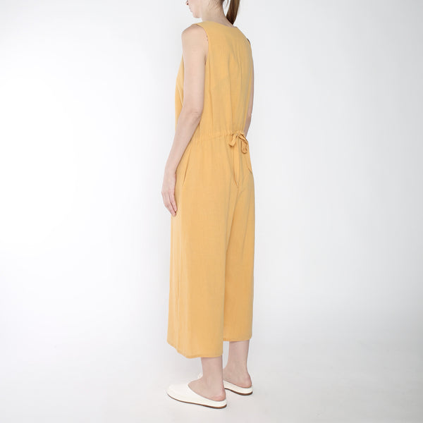 Wide-legged Jumpsuit - SS19 - Golden Yellow