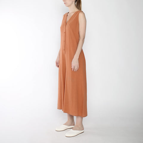 Wide-legged Jumpsuit - SS19 - Tangerine