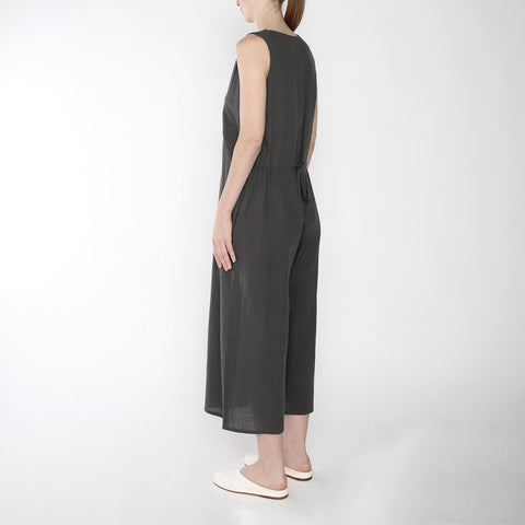 Wide-legged Jumpsuit - SS19 - Gray