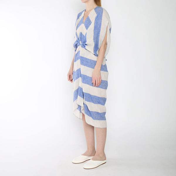 Stripe 4-Way Dress - SS19 - Blue Stripe