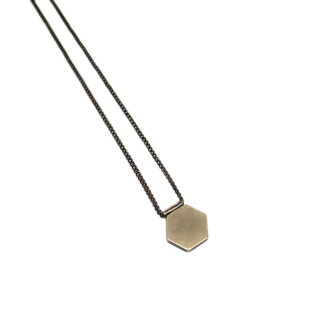Hexagon Necklace - Mini - BSC