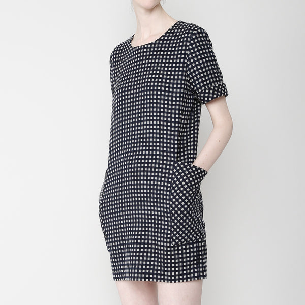 Pocket Shift Dress - Plaid FW16