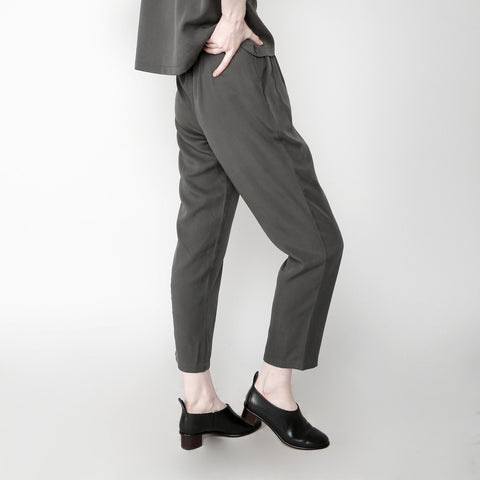 Pleated Trouser - Gray FW16