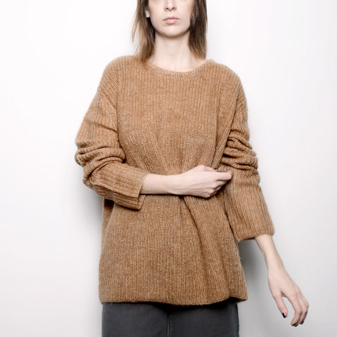 Mohair Pullover Sweater - Camel FW16