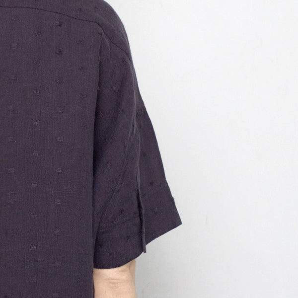 Linen Pocket Shirt - Navy - SS17