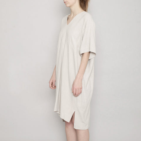 V-Neck Dolman Dress - Sand - SS17