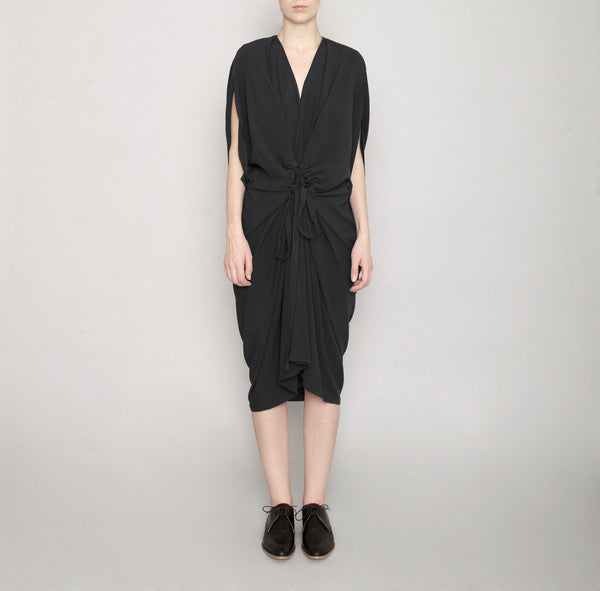 Signature Kimono Dress - Black